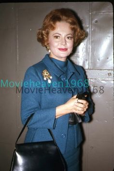 Olivia de Havilland 35MM SLIDE TRANSPARENCY 885 PHOTO NEGATIVE