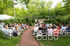 Outdoor garden wedding in Door County. Photo by Jason Mann Photography 920-246-8106 | www.JMannPhoto.com