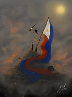 Fighting for Independence [Philippines- OC- APH] by Tsukiakari-Aya on DeviantArt Philippine Army, Philippine Mythology, Philippines Country, Philippines Culture, Philippines Flag, Filipino Art, Filipino Culture, Philippine Flag Wallpaper, Aesthetic Art
