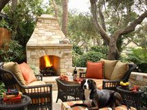Spring Patio Fix-Ups: Install an Outdoor Fireplace or Fire Pit  Make your yard the place to be by adding a fire feature that draws a crowd