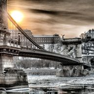 Bridge over Danube, Budapest *