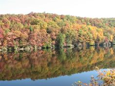 Clarion River in Fall