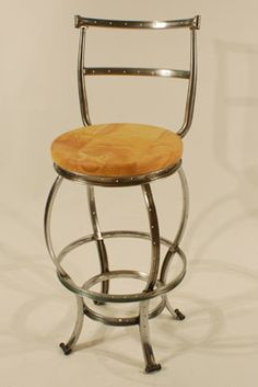 Chairs made for New Belgium http://www.cartwrightdesign.com/furniture.php