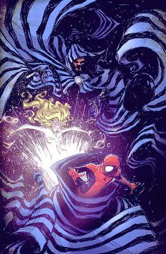 Spider-Man, Cloak & Dagger - Skottie Young