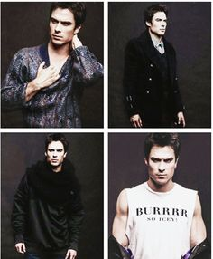 Ian Somerhalder I knew you in Smallville, liked you in Lost and fell in love with you in the Vampire Diaries