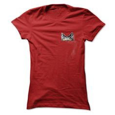 a cat in my pocket T-Shirts, Hoodies. CHECK PRICE ==► https://www.sunfrog.com/Funny/a-cat-in-my-pocket-Red-55189543-Ladies.html?41382