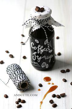 Homemade Coffee Syrup