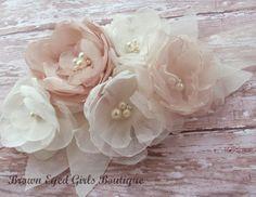 Blush Champagne and Ivory Bridal Sash, Blush Wedding Sash, Blush Wedding Belt on Etsy, $1,000.00