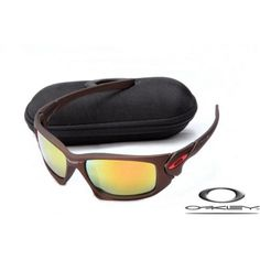 Discount Oakley Scalpel Sunglasses With Dark Brown Frame/Fire Iridium Lens Online