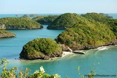 Hundred Islands National Park in Alaminos, Pangasinan, Philippines