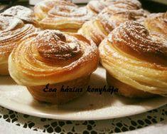 Cruffin   Rédei - Varga Éva receptje - Cookpad receptek Muffin, Breakfast, Recipes, Food, Morning Coffee, Eten, Recipies, Ripped Recipes, Cupcakes
