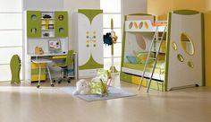 hermosa habitación infantil..