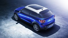 MINI Cooper S Paceman by Peter Jaworowski, via Behance