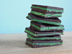 Vegan mint chocolates