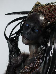 Art Dolls - Virginie Ropars Image could contain: 1 person Roofing Basics Article Body: Roofing is so Maquillage Halloween, Halloween Makeup, Dark Fantasy, Fantasy Art, Character Inspiration, Character Art, Fashion Inspiration, Illustration Fantasy, Fx Makeup