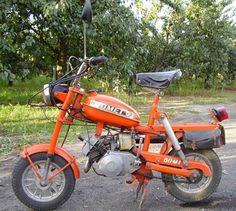 PM 74 Motorower Pony produkowany w latach przez bydgoski Romet. 50cc Moped, Moped Scooter, Old Motorcycles, Good Old Times, Retro, Motorbikes, Childhood, Vehicles, Eagles
