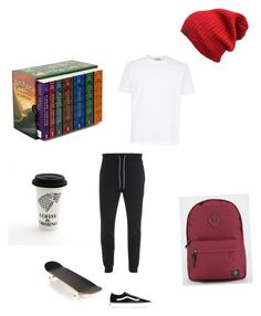 """Tyler's look"" by denishaelliott998 on Polyvore featuring Luke, Vans, Parkland, AMI, men's fashion and menswear"