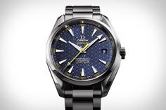 007 is known for wearing an Omega Seamaster, but even he's never had one like this. The Omega Seamaster Aqua Terra James Bond Edition Watch was created in anticipation of Spectre and inspired by the secret agent's family coat of...