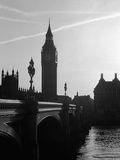 View of Big Ben from Across the Westminster Bridge