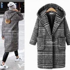 Bild ergebnis für das muster für frauen große größe winter mantel - пальто auf #пальто. Winter Coats Women, Coats For Women, Clothes For Women, Mode Mantel, Winter Stil, Plus Size Winter, Stylish Plus, Plus Size Coats, Plus Size Fashion For Women