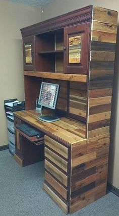 pallet hutch project idea