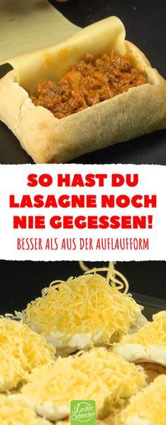 You have never eaten lasagna before! Better than the casserole dish. - C * Deutsche Küche 1 - Essen Pizza Recipes, Whole Food Recipes, Vegan Recipes, Lasagna Recipes, Vegan Mac And Cheese, Casserole Dishes, Casserole Recipes, Easy Macaroni Salad, Whole Foods