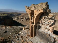 Broken arch: a relic of ancient Ani on the closed Turkey-Armenia border. Photograph by Paul Salopek