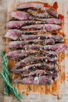 Marinated Flank Steak (AIP, Paleo, Low FODMAP)