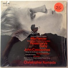Rosemary's Baby - Music From The Motion Picture Score LP Vinyl Record Album, Dot Records - DLP 25875, 1968, Original Pressing