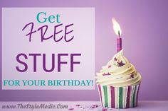 21 Places to Get #Freebies for Your Birthday