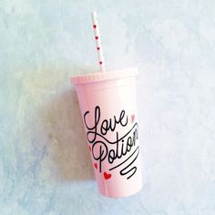 The perfect addition to any gift basket, Love Potion Tumbler from Ban.do