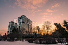 Bucharest Romania, Evening Sky, Sunset Sky, Backgrounds Free, Winter Day, Free Stock Photos, Adobe, Buildings, Tower
