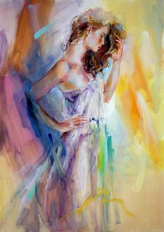 beautiful paintings | ... Paintings - Anna Razumovskaya Essentially Beautiful Painting