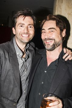With Nathaniel Parker from the play Wolf Hall, in NYC last month