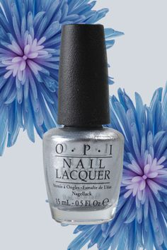18 Nail Polish Colors You'll Be Wearing All Spring- Stunning Silver