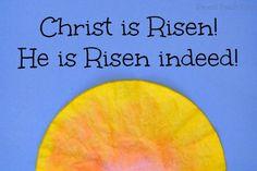 Easter Sun Rise Craft