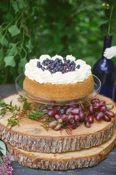 Blueberry Cheesecake from Indulge and Catherine Guidry