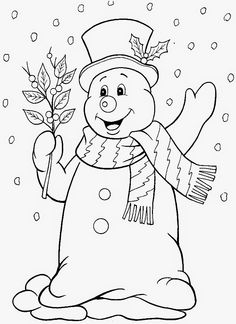 Christmas and Winter Coloring Pages Best Of Snowman Drawing Would Like to Make A Winter Quilt Blocks Christmas Applique, Christmas Embroidery, Christmas Colors, Christmas Art, Christmas Coloring Sheets, Snowman Quilt, Winter Quilts, Christmas Drawing, Holidays Events