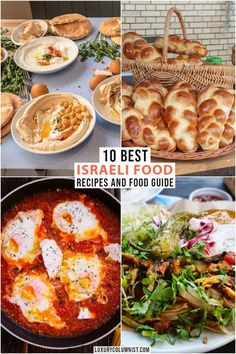 Israeli food is famous for its delicious flavours and inventive cooking techniques. Here are some of the best Israeli food recipes, as well as tips on where to Israeli Food, Israeli Salad, Israeli Recipes, Tel Aviv, Around The World Food, Vegetarian Recipes, Healthy Recipes, Jewish Recipes, World Recipes