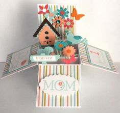 Mom's Card In A Box by gails - Cards and Paper Crafts at Splitcoaststampers