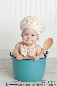 Cute little chef!