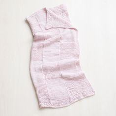 Martha Stewart Crafts Lion Brand® Yarn Extra Soft Wool Blend Loom-Knit Basketweave Throw and more on MarthaStewart.com