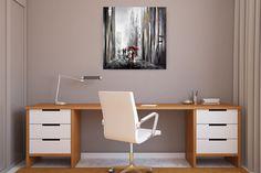 Acryl Gemälde 'Mit dir an meiner Seite' 80x80cm