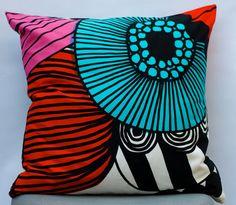 Hand Made Pillow From Marimekko Fabric 20 by edesigninteriordecor