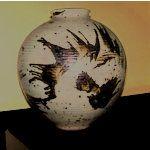 Vintage 1978 Otto Heino Pottery Vase