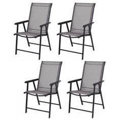 Hampton Bay Laurel Oaks Brown Steel Outdoor Patio Chaise Lounge with Sunbrella Beige Tan Cushions-H102-01574700 - The Home Depot Outdoor Folding Chairs, Patio Dining Chairs, Lawn Chairs, Dining Chair Set, Cool Chairs, Tent, Indoor, Outdoor Furniture, Garden Furniture