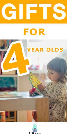 Looking for the perfect gift for the four year old who's silly yet sweet, smart yet sassy? At this age, kids become more independant as they attend school, build connections, and their own unique sense of who they are. In this list of gifts for 4 year olds, you'll find gift ideas perfect for kids with interests in art, music, science, reading, math and more. These gifts are perfect for celebrating birthdays, holidays and other special occasions. For more gift ideas, visit us at giftdino.com. 2 Year Old Birthday, Birthday Diy, Birthday Presents, Four Year Old Christmas Gifts, Christmas On A Budget, Unique Gifts For Kids, Gifts For Teens, Learning Toys For Toddlers, Non Toy Gifts
