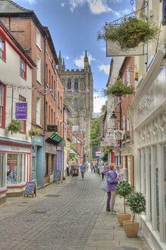 Hereford, England. Another quaint English town!  ASPEN CREEK TRAVEL - karen@aspencreektravel.com