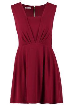 WAL G. - Sukienka koszulowa - burgundy