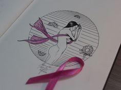 """Outubro Rosa. """"Prevenir é um ato de amor... com você, com seu corpo e com todos que te amam"""" Segunda arte do meu Sketchbook."""